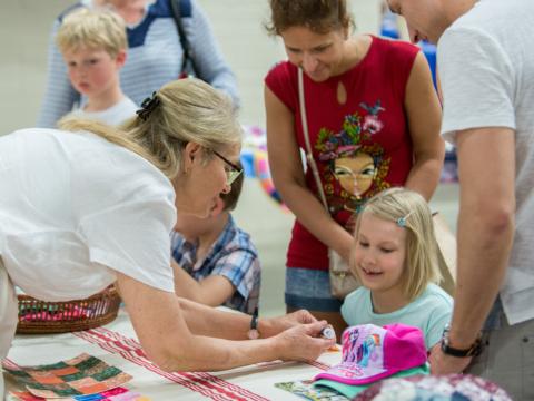 Carole Dorr and kids