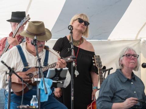 Lehigh Valley Folk Music Society and Sam Bennett