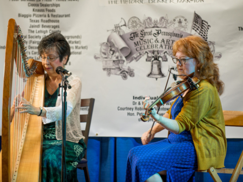 Joanna Mell and Alison Gillespie